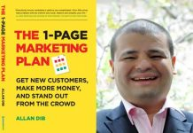 Allan Dib's Book: The 1-Page Marketing Plan: Get New Customers, Make More Money And Stand Out From The Crowd