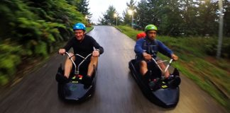 Skyline Luge – Downhill Racing At It's Best