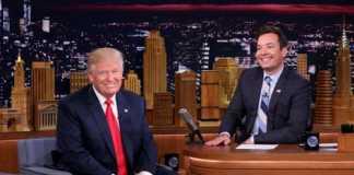 Jimmy Fallon and Trump (Image Source: smh), crowdink.com, crowdink.com.au, crowdink, crowd ink