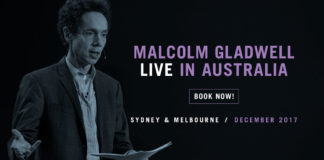 crowdink.com, crowdink.com.au, crowd ink, crowdink, International Best Selling Author Malcom Gladwell is Coming to Australia.